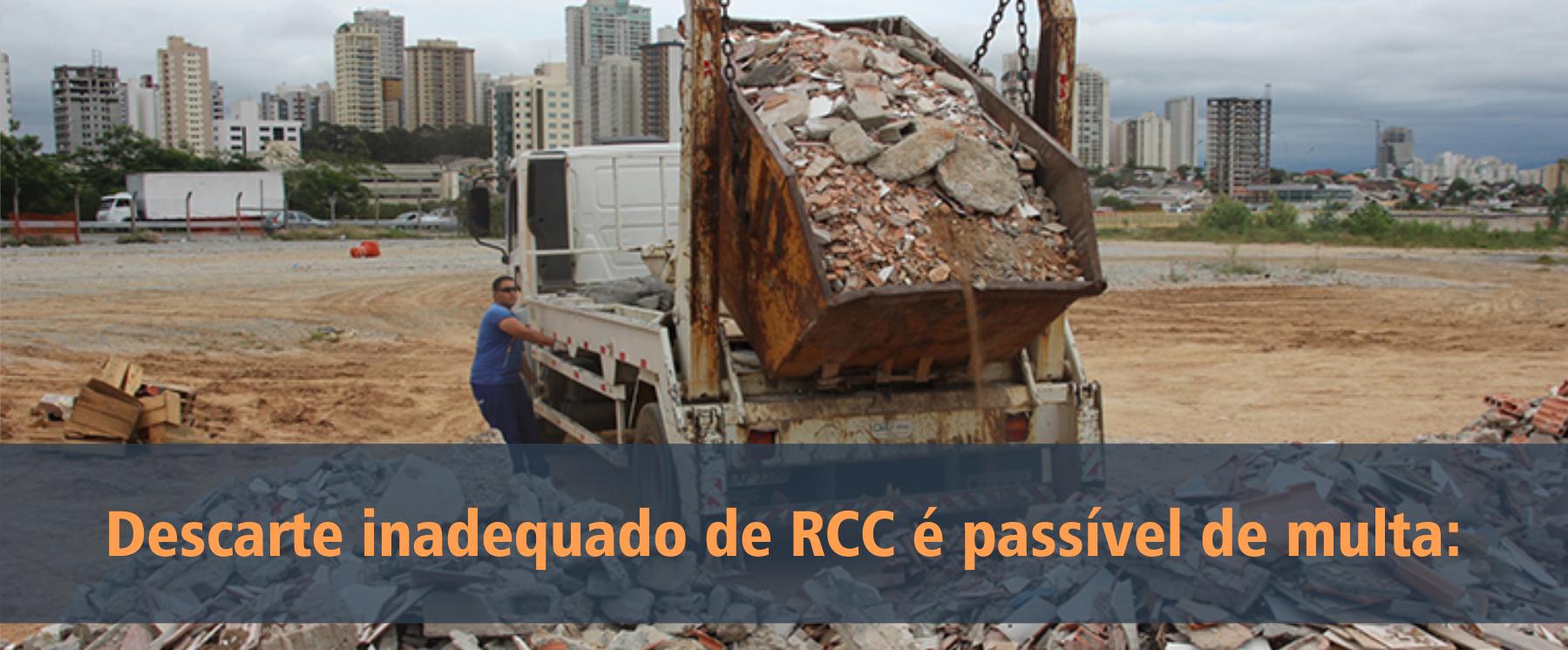 descarte de Resíduos da Construção Civil