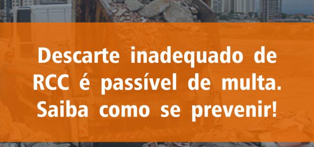 Descarte inadequado de Resíduos da Construção Civil é passível de multa?