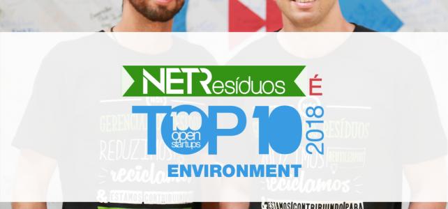 NETResíduos é TOP 10 no 100 Open Startups!