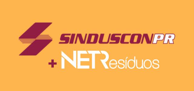 O SINDUSCON – PR é o novo parceiro do NETResíduos