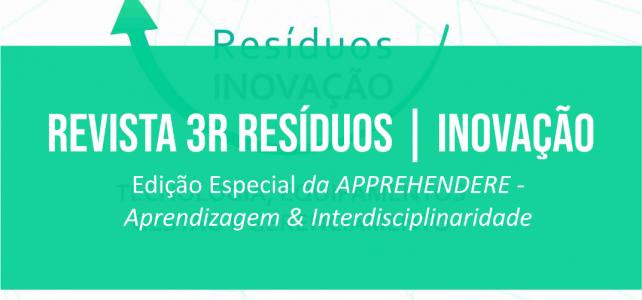 Revista 3R Resíduos – INOVAÇÃO – Edição Especial